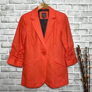 NWT Anthracite by muse Coral 1 button Blazer Sz 8